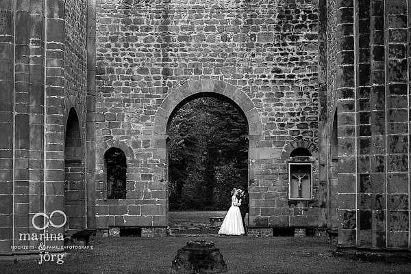 After-Wedding-Fotoshooting bei Lich (Kloster Arnsburg mit Restaurant Alte Klostermühle) - Hochzeitsfotografie Marina & Jörg, Gießen