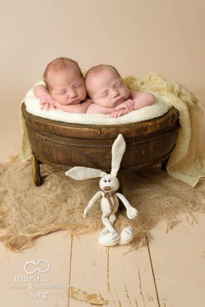 Baby-Fotograf Gießen - Babygalerie mit Zwillingen