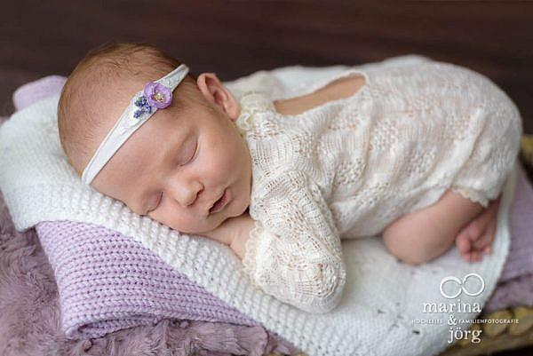 Neugeborenenfoto entstanden bei einem Baby-Fotoshooting bei Marburg
