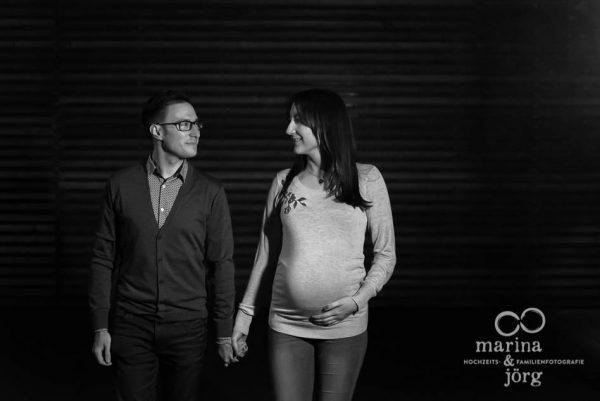 Babybauch-Fotoshooting - Familienfotografie Gießen