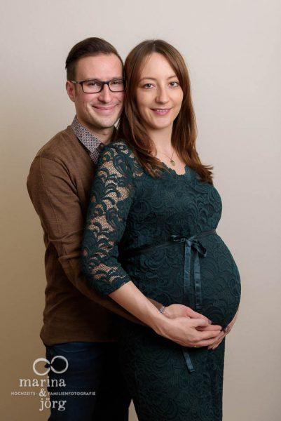 Babybauchbild - Fotoshooting bei Gießen
