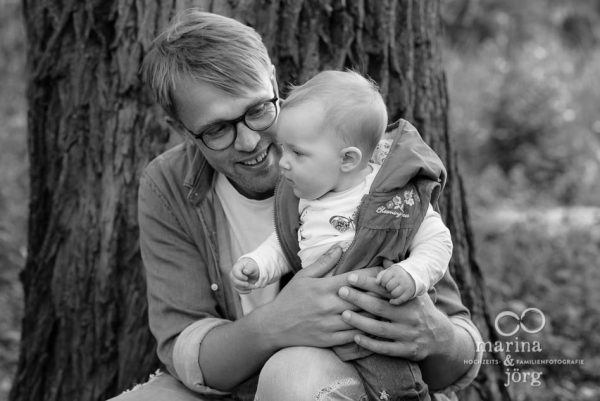 Familienfotografie Gießen - natürliche Babyfotos