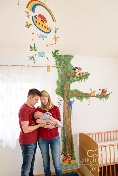 professionelle Babyfotos bei euch zuhause von den Babyfotografen Marina & Jörg aus Gladenbach