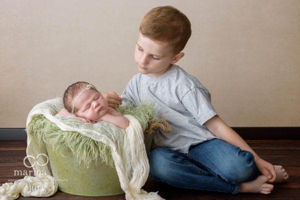 Babyfotograf Gießen - professionelles Baby-Fotoshooting entspannt zu Hause (Babygalerie Gießen)