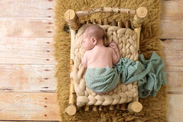 Babygalerie Lich: Newborn-Fotoshooting