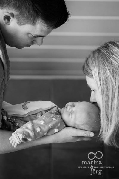 Neugeborenenfotos und Babyfotos - Babyfotografen für Gießen