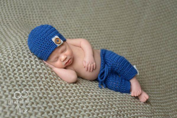 Babygalerie Gießen - professionelles Neugeborenen-Fotoshooting