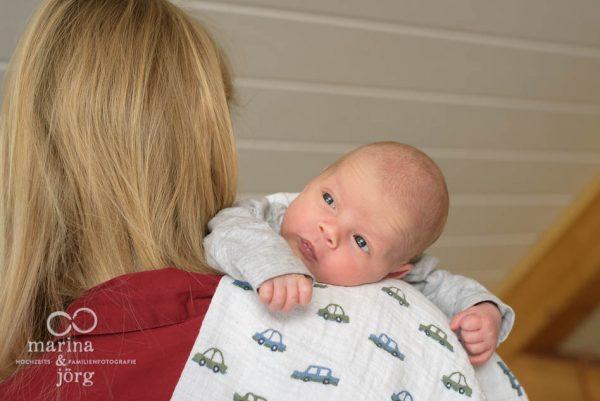Babyfotograf Gießen - dokumentarische Babyfotografie