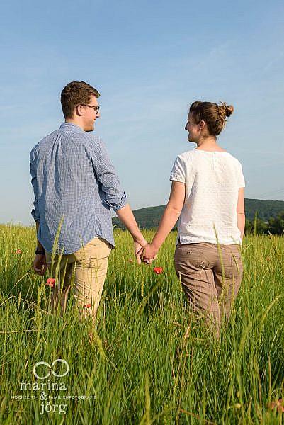 Engagement Fotoshooting - Hochzeitsfotografen für Gladenbach