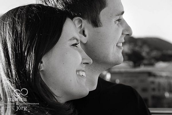 Engagement Paar-Fotoshooting in Marburg - Hochzeitsfotografen Marburg
