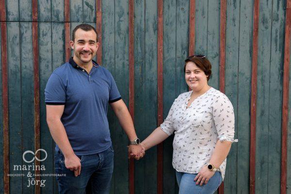 Engagement Paar-Fotoshooting in Marburg - Hochzeitsfotografen für Marburg