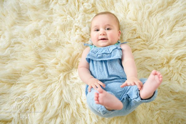 Babygalerie Giessen: suesses Babyfoto