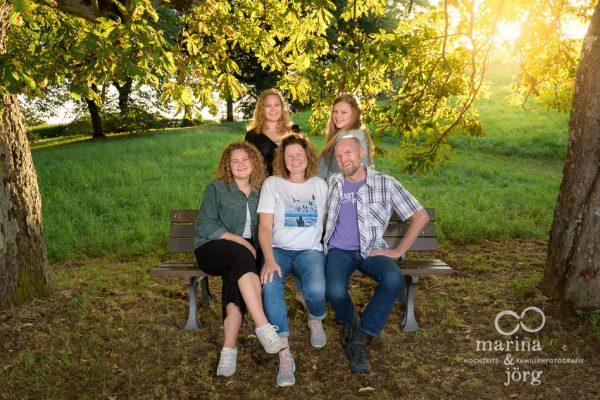 Familien-Fotoshooting bei Gießen - Familienfotos bequem an eurem Lieblingsort