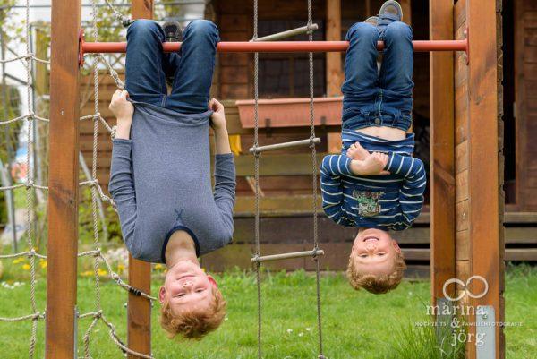 natürliche Kinderfotos - Marina & Jörg, Familienfotografen Gießen