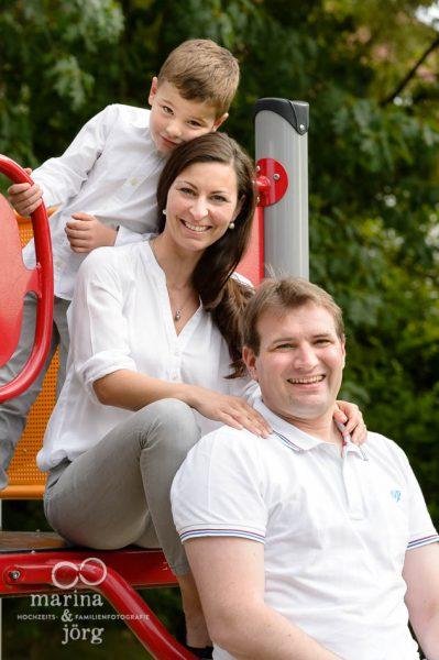 Marina und Joerg, Fotograf Marburg: Familienfoto mal anders