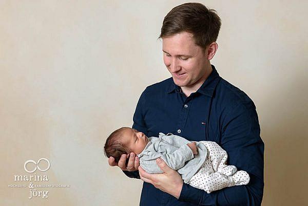 Baby Fotoshooting mit den Familienfotografen Gießen