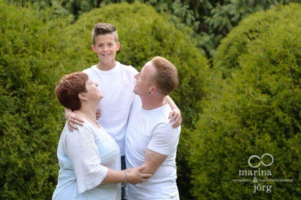Marina und Joerg, Familienfotografen Marburg: Outdoor-Familien-Fotoshooting