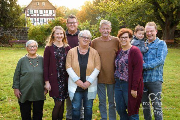 Familien-Fotoshooting bei Gießen - Familienfotos bequem zu Hause