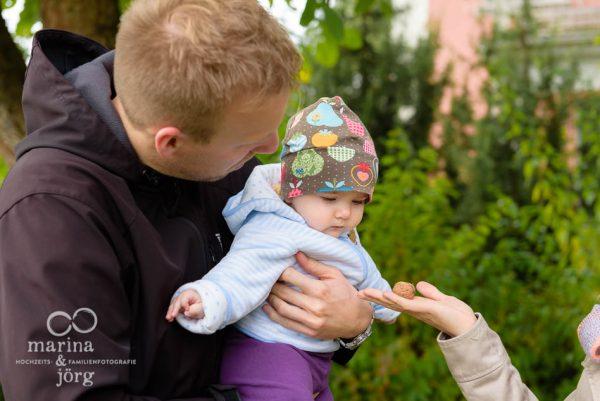 authentische Familienfotos bei einer Familienreportage in Giessen