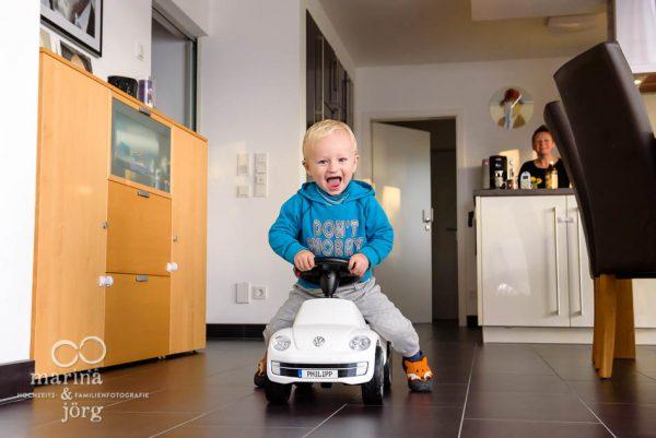 Lebendige Kinderbilder - Familienfotografie Gießen