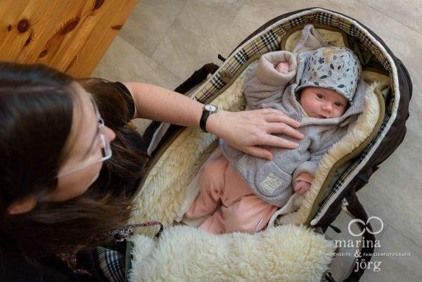 Familienfotografie Wetzlar - Neugeborenenfotos einer Homestory