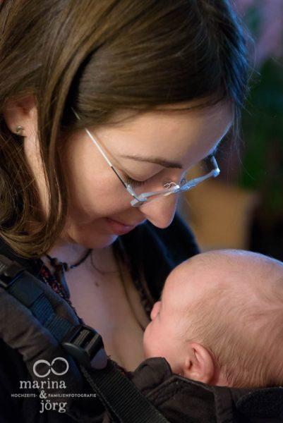 Familienreportage bei Gießen: Neugeborenen-Homestory