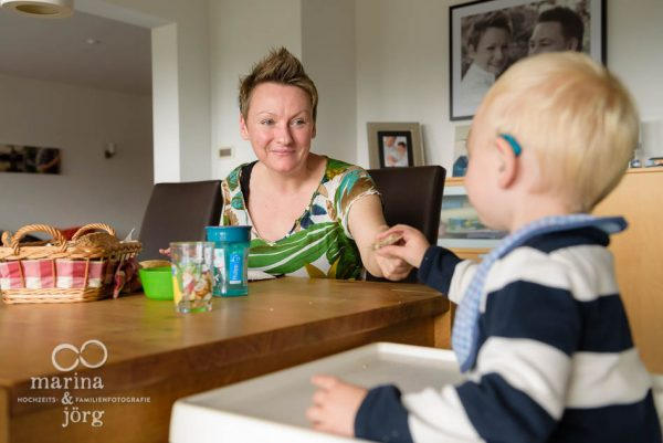 Familienreportage / Homestory bei Gießen - ungestellte Familienfotos, wertvolle Erinnerungen