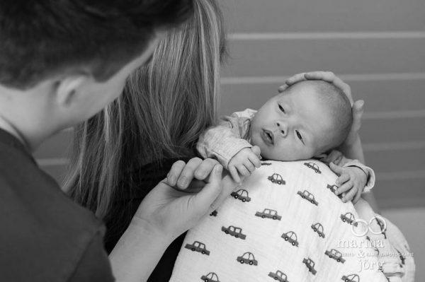 Familienreportage in Gießen - Babyfotos entstanden bei einer Homestory