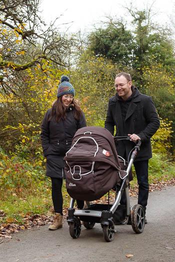 Familienreportage mit einem neugeborenen Baby - Marina & Jörg, Fotografen für Marburg