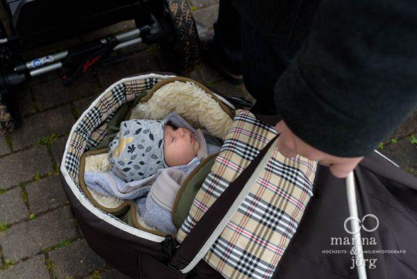Familienreportage in Wetzlar - Babyfotos entstanden bei einer Homestory