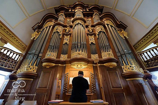 Orgel in der Stadtkirche Laubach bei Gießen