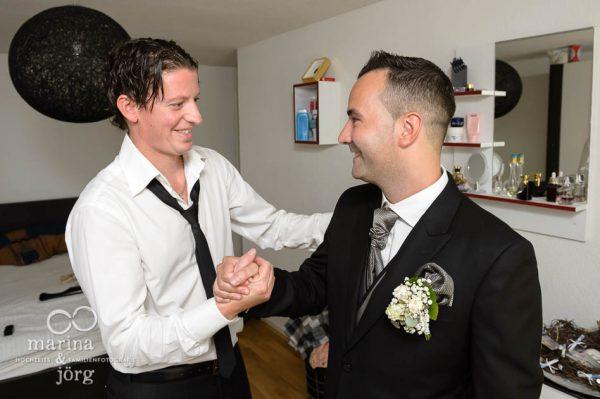 Hochzeitsfotograf Giessen: Hochzeitsreportage in der Naehe von Bern - Getting-Ready