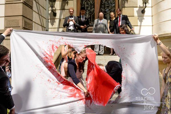 Hochzeitsreportage in Giessen: Hochzeitsspiel
