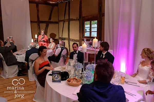 Rede der Eltern bei einer Hochzeit in Laubach