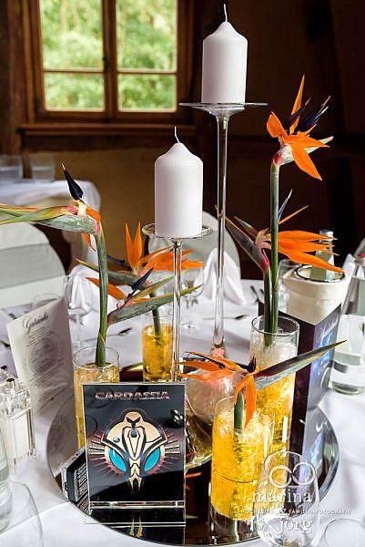Faszinierend: Star-Trek Tischdeko - Hochzeits-Fotografen für Laubach
