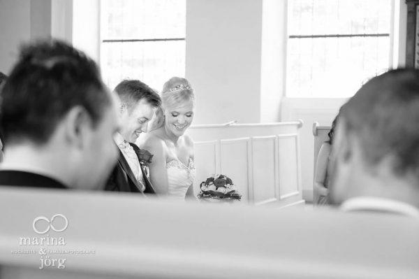 Brautpaar in der Kirche Wittelsberg