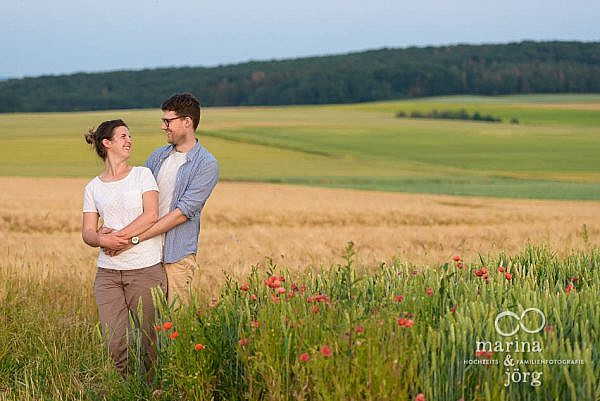 Fotograf Marburg - Paar-Fotoshooting (Verlobungs-Shooting / Engagement-Session)
