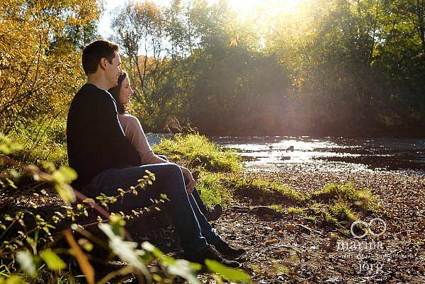 Fotograf für Marburg - romantisches Paarshooting (Engagement-Session)