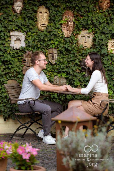 Paarshooting in der Dammühle einer top Hochzeitslocation bei Marburg