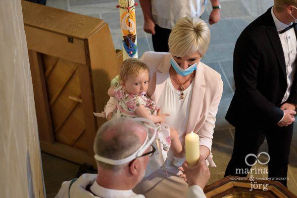 Als Familienfotografen unterwegs bei einer Taufe im Raum Marburg - Marina & Jörg, Familienfotografie