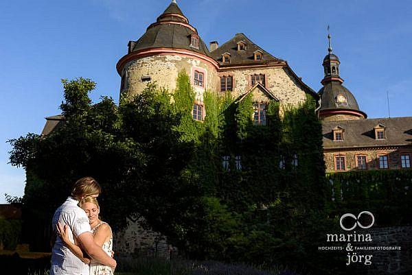 Paarshooting im Schloss Laubach - Hochzeitsfotograf für Laubach