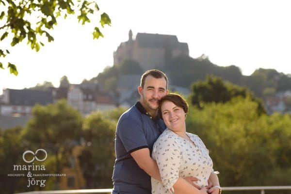 Marina & Jörg, Hochzeitsfotografen für Marburg: romantisches Paar-Fotoshooting in Marburg