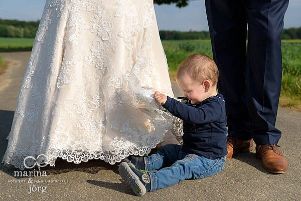 Heiraten mit Kind - Hochzeitsfotos bei Gießen