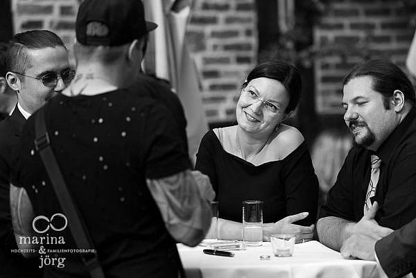 Hochzeit in der Eventscheune des Landhotels Waldhaus in Laubach - Hochzeitsreportage