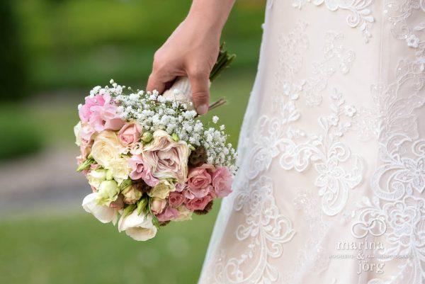 Brautstrauß bei einer Hochzeit in Butzbach
