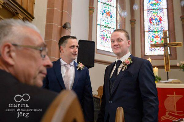 Fotograf für Gießen: Hochzeit in der Kirche Annerod
