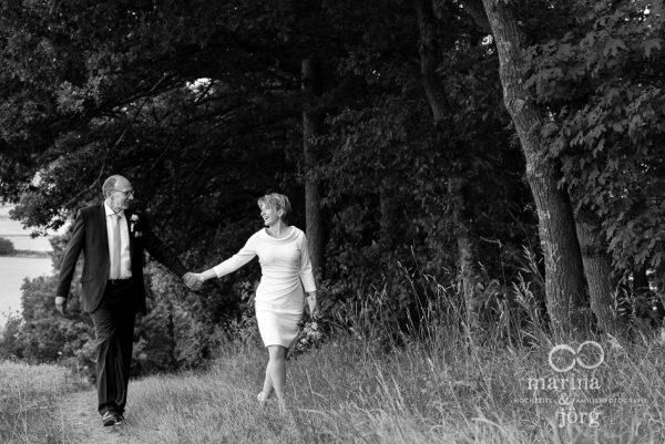 Hochzeits-Fotograf Gladenbach: Paar-Fotoshooting nach einer standesamtlichen Hochzeit in Gladenbach