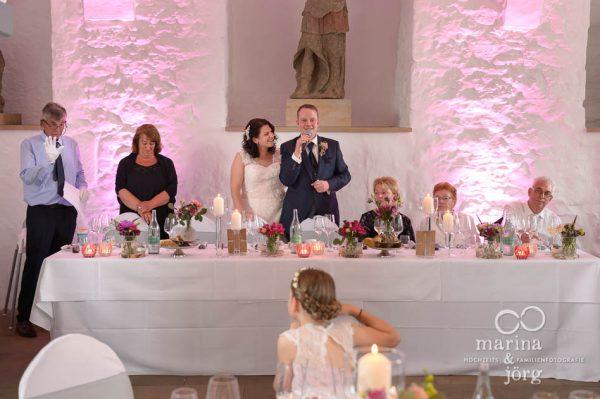 Marina & Jörg, Hochzeitsfotografen für Butzbach: Rede des Bräutigams