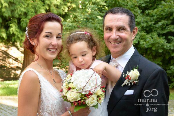 kleines Kind bei einer Hochzeit in Gießen