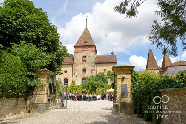 Hochzeits-Fotograf Gießen: Hochzeit auf Schloss Münchenwiler bei Bern